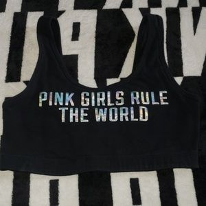 Pink sports bra in excellent condition!